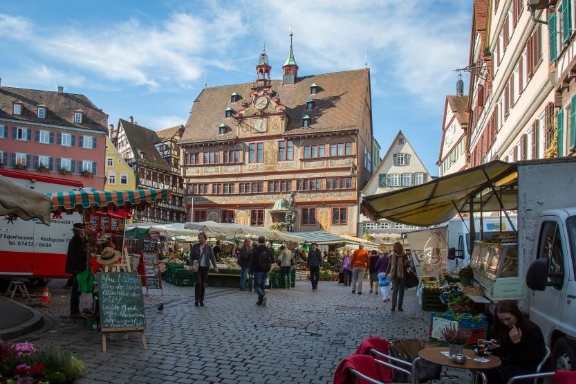Tübingen Marketplatz